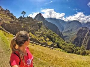Mari em Machu Picchu - Peru