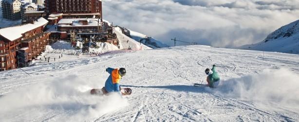 Valle Nevado Temporada de Ski