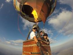 Balão na Chapada dos Veadeiros